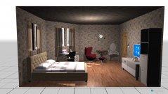 Raumgestaltung Nan'S Bedroom in der Kategorie Schlafzimmer