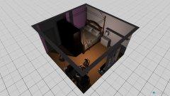 Raumgestaltung Nathalie Zimmer in der Kategorie Schlafzimmer