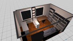 Raumgestaltung Nebenraum 1 in der Kategorie Schlafzimmer
