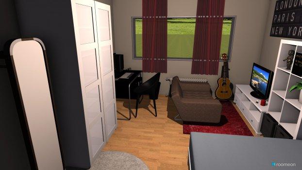 Raumgestaltung neues zimmer februar in der Kategorie Schlafzimmer