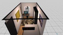 Raumgestaltung Neues Zimmer in WG in der Kategorie Schlafzimmer