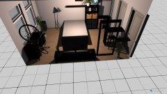 Raumgestaltung neues zimmer klein in der Kategorie Schlafzimmer