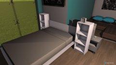 Raumgestaltung neues zimmer von anna in der Kategorie Schlafzimmer