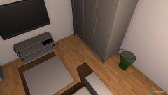 Raumgestaltung nicos raum in der Kategorie Schlafzimmer