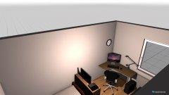 Raumgestaltung Nils Zimmer in der Kategorie Schlafzimmer