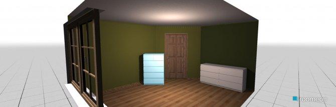 Raumgestaltung Nina  in der Kategorie Schlafzimmer