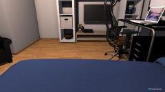 Raumgestaltung Ninas Traumzimmer 2.0 in der Kategorie Schlafzimmer