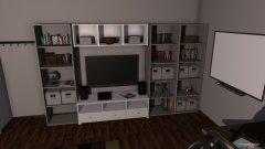 Raumgestaltung Ninas Traumzimmer  in der Kategorie Schlafzimmer