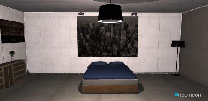 Raumgestaltung nosso quarto in der Kategorie Schlafzimmer