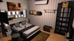 Raumgestaltung Nost Macatrornics 01 in der Kategorie Schlafzimmer