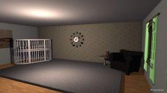 Raumgestaltung Nursery in der Kategorie Schlafzimmer
