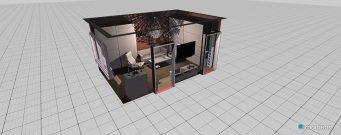 Raumgestaltung Obývák in der Kategorie Schlafzimmer