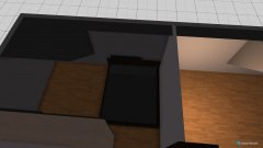 Raumgestaltung Obere Etage Variante 1 in der Kategorie Schlafzimmer