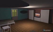 Raumgestaltung Oda Fjolles in der Kategorie Schlafzimmer