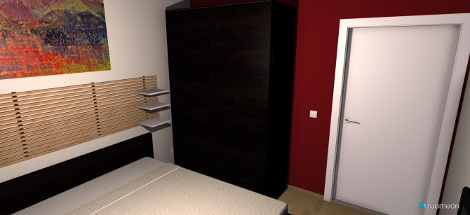 Raumgestaltung Oda ku Fina in der Kategorie Schlafzimmer