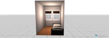Raumgestaltung Övernattningsrum_nr 4-7_liten in der Kategorie Schlafzimmer