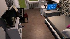 Raumgestaltung OHNE TRENNWAND in der Kategorie Schlafzimmer