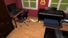 Raumgestaltung Ole's neues Zimmer in der Kategorie Schlafzimmer