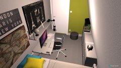 Raumgestaltung Oliver's bedroom in der Kategorie Schlafzimmer