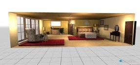 Raumgestaltung orange! in der Kategorie Schlafzimmer