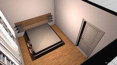 Raumgestaltung Osloer Schlafzimmer in der Kategorie Schlafzimmer