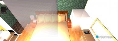 Raumgestaltung otaxi in der Kategorie Schlafzimmer
