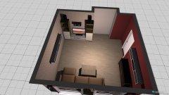Raumgestaltung Papa Zimmer in der Kategorie Schlafzimmer