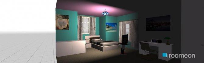 Raumgestaltung PeaceFul in der Kategorie Schlafzimmer