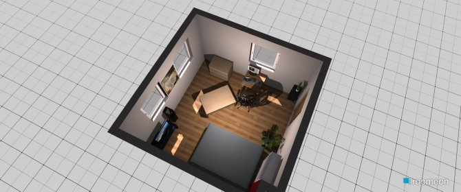 Raumgestaltung Pinto in der Kategorie Schlafzimmer