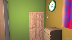 Raumgestaltung Ūpis in der Kategorie Schlafzimmer