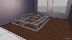 Raumgestaltung Podest in der Kategorie Schlafzimmer