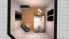 Raumgestaltung pokój mały in der Kategorie Schlafzimmer