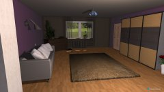 Raumgestaltung pokój seby&remka in der Kategorie Schlafzimmer