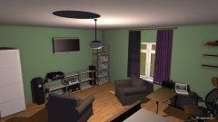 Raumgestaltung Pokój Ujejsce in der Kategorie Schlafzimmer