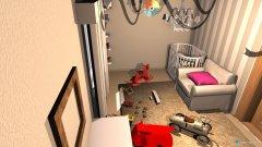 Raumgestaltung Pokoik Dziecka 3 in der Kategorie Schlafzimmer