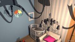 Raumgestaltung Pokoik Dziecka in der Kategorie Schlafzimmer