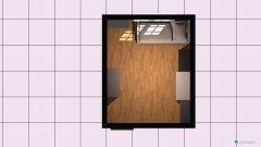 Raumgestaltung Pokoj Lucjii in der Kategorie Schlafzimmer