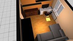 Raumgestaltung pokoj sypialnia in der Kategorie Schlafzimmer