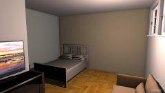 Raumgestaltung pokoj in der Kategorie Schlafzimmer