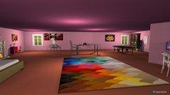 Raumgestaltung poppy's room in der Kategorie Schlafzimmer