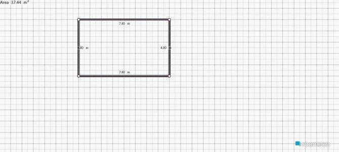 Raumgestaltung primer proyecto in der Kategorie Schlafzimmer
