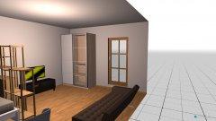 Raumgestaltung Prinz Georg Straße in der Kategorie Schlafzimmer