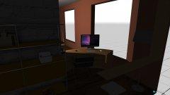 Raumgestaltung Progetto 3, camera da letto + cabina armadio in der Kategorie Schlafzimmer