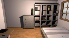 Raumgestaltung projekt 1 Mein Zimmer in der Kategorie Schlafzimmer