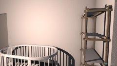 Raumgestaltung Quarto da coisinha in der Kategorie Schlafzimmer
