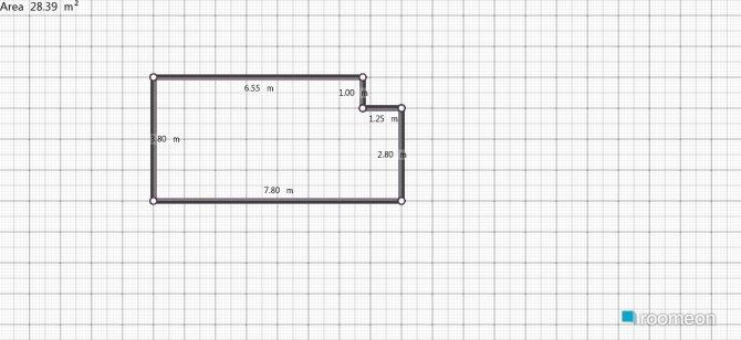 Raumgestaltung quarto do clovis in der Kategorie Schlafzimmer