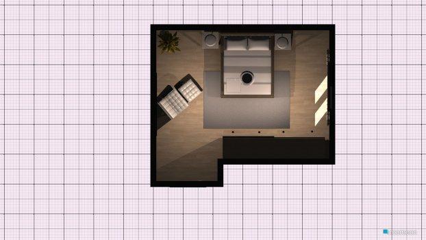 Raumgestaltung quarto do t1 in der Kategorie Schlafzimmer