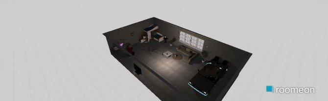 Raumgestaltung quarto doido in der Kategorie Schlafzimmer