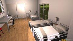 Raumgestaltung quarto meninas in der Kategorie Schlafzimmer