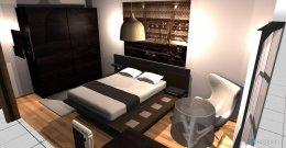 Raumgestaltung Quarto principal in der Kategorie Schlafzimmer